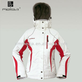 2013New Style White Waterproof Winter Jacket,Jackets