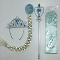 Wholesale Kids Princess Girls Frozen Princess Elsa Accessories Set For dress up accessories