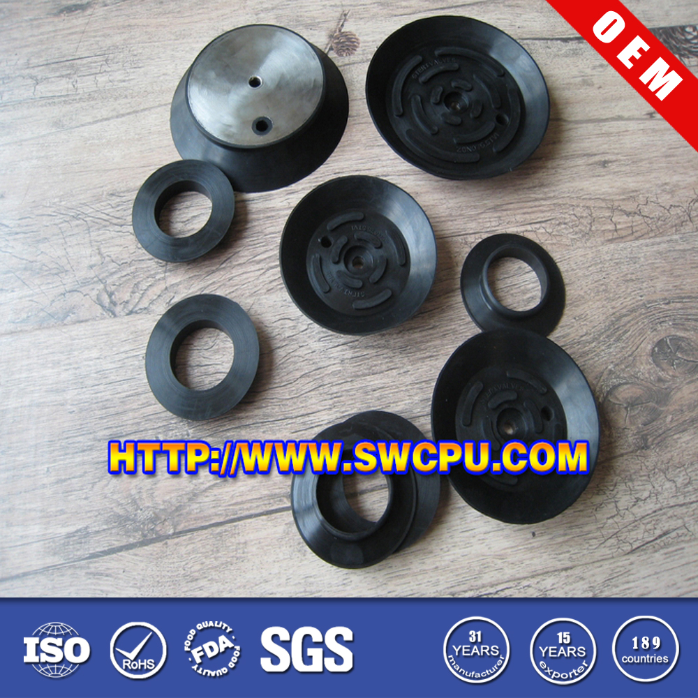 Rubber black suction cups vacuum pad