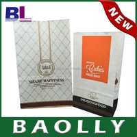 Printed bag bread packaging food bag baolly