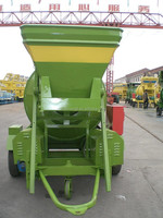 JZM350 350l self loading mobile electric portable concrete mixer,cement mixer with plastic drum