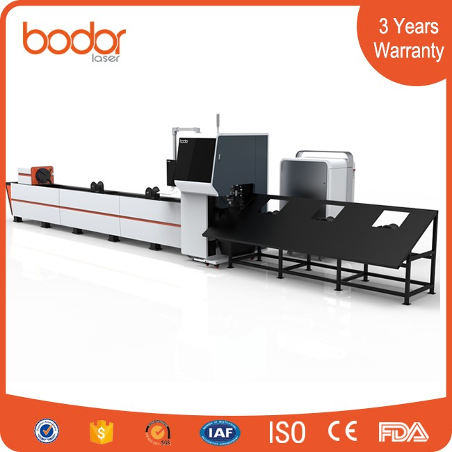 fiber laser cutting machine maid in China for pipe
