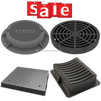 Easy installation round or square ductile cast iron manhole cover