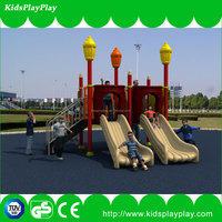 High Quality entertainment slide and swing outdoor playground wooden