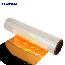 25 Micron Bopp Hologram EVA Coated Thermal Holographic Laminating Film