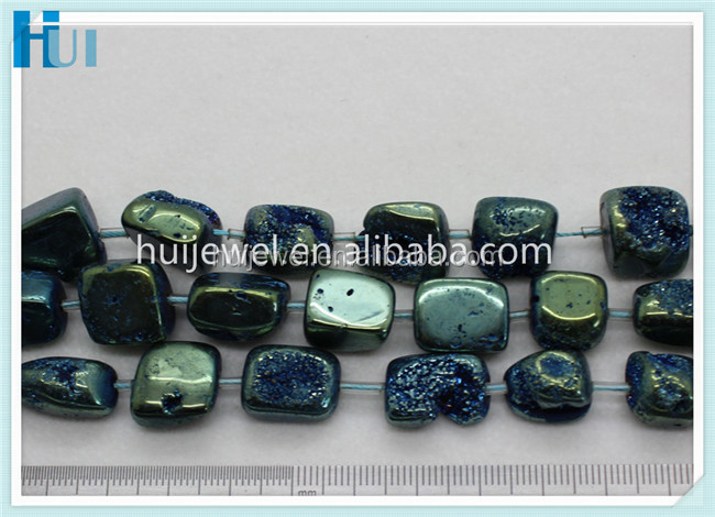 diy bead 12-15mm wholesale druzy jewelry beads druzy agate beads
