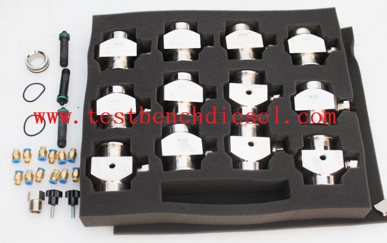 Diesel cri tool Spare Part Kit Common Rail Injector Holder 12pcs for common rail test bench