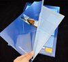 handmade plastic transparent files and folders