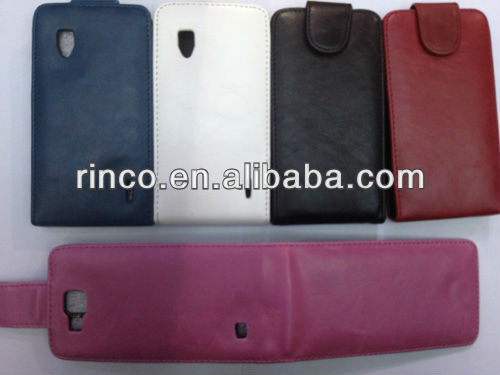Shine PU Leather Case for Google LG Nexus 4 E960