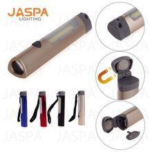 Led aluminum flashlight emergency led flashlight hand pressing