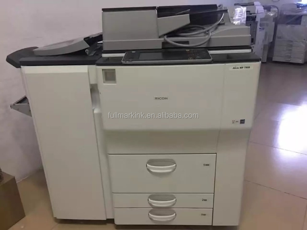 Genera Type and Used Status copier machines mp7502 ricoh