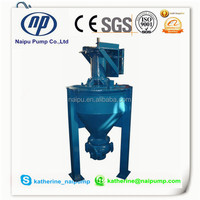 High quality best price Mining Vertical Froth slurry pump manufacturer