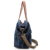 Lady's Canvas vintage tote bag leather strap