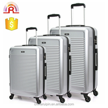 4 wheels hard high end travel abs trolley luggage