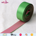 Wholesale cheap two color printed double sided polyester satin ribbon for sale