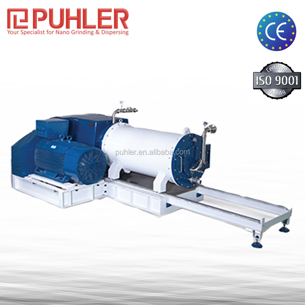Puhler All Round Ink Horizontal Bead Mill Machine 60-200L High Output