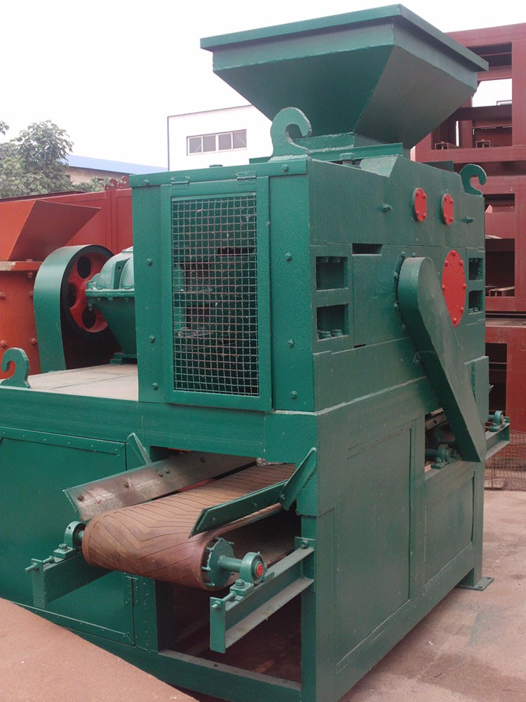 Black Mineral Ore ball press equipment, charcoal ball pressing plant