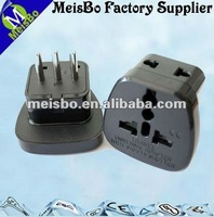 10a Italy 2 way dc electrical plugs and sockets safety shutter