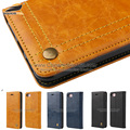 Dustproof Customized PU Leather Flip Mobile Cover Case For Asus Zenfone 3 Max
