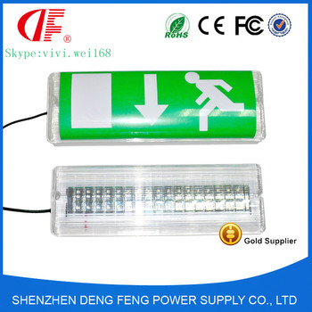 Dual-purpose IP66 Emergency Exit Sign and LED waterproof Emergency lamp manufacturer