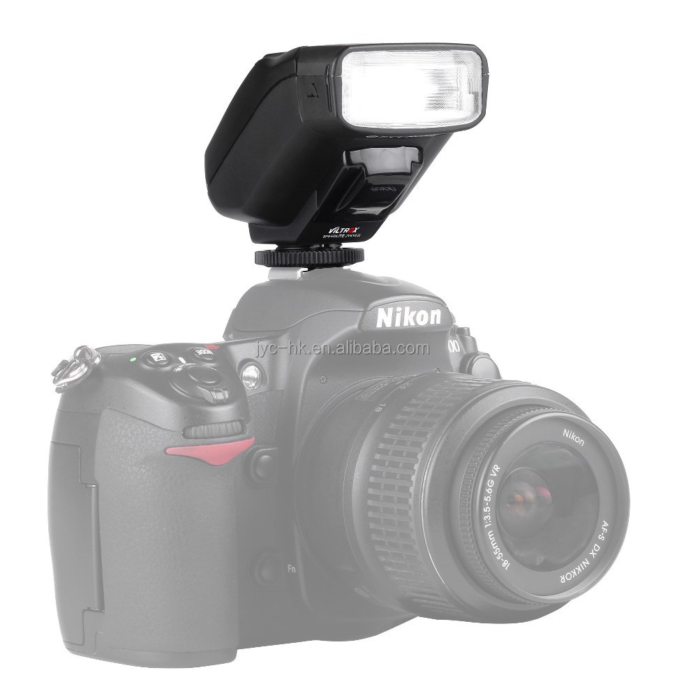 Viltrox Mini Speedlite JY-610 II with LCD Display for Canon/Nikon Camera 5D Mark III 70D D810