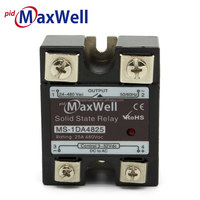 Maxwell Solid State Relay SSR-25DA Single Phase MS-1DA4825 Input 3-32VDC Output 24-480VAC Rated current 25A