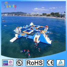 Custom Inflatable Floating Water Park Equipment, Giant Inflatable Water Games for Adult, Inflatable Water Park Manufacter