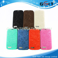 Hot Sale mobile phone Leather Case For Samsung S4 I9500