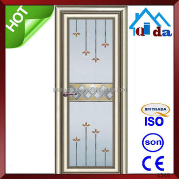 aluminium glass door design interior door for bedroom panel garage
