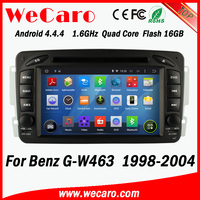 Wecaro WC-MB7507 Android 4.4.4 1024*600 for benz g w463 car dvd player 1998 - 2004 Steering Wheel Control