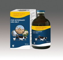 Closantel Sodium Injection 10% for animals use only