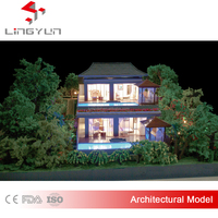 realistic villa architectural model design and make