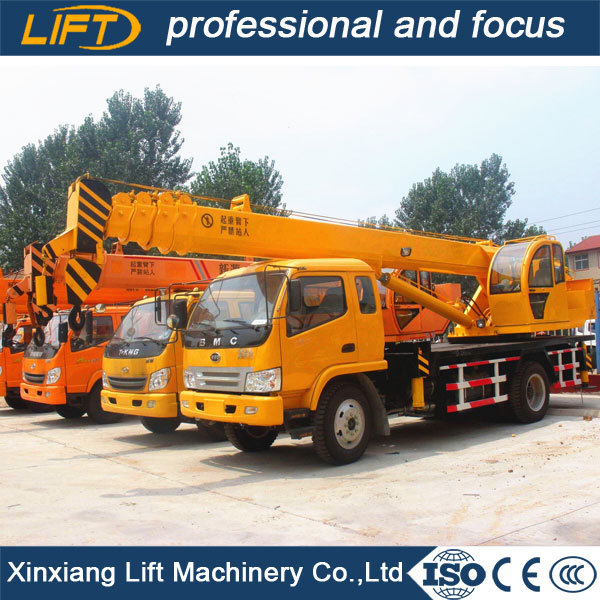 24m lifting height truck cranes for sale 7 ton