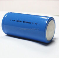 Factory price rechargeable li-ion battery 32650 3.7V 5000mah for flashlight/torch/LED light/emergency light