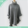 fashion pocket acrylic cashmere poncho scarf shawl for women
