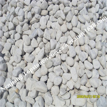 snow white pebbles, white round pebble stone