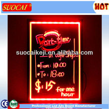 2013 Innovative New Products LED Writing and Flashing Board for Halloween & Christmas Parties