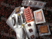 PA/PE Vacuum Pouch Dried Food Tubular Clear Plastic Beef Jerky Packaging Bags