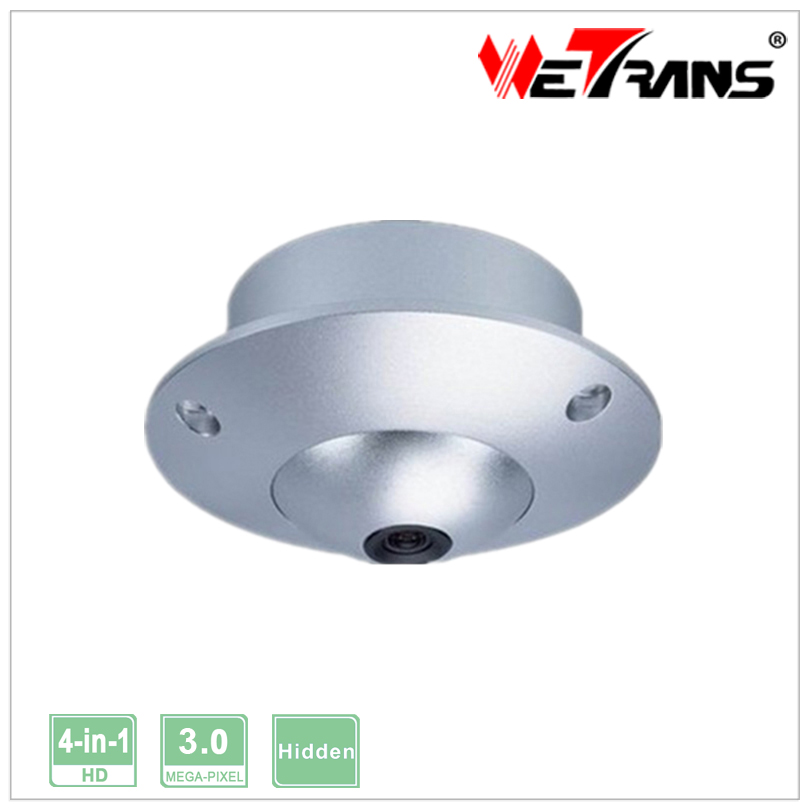 New H.264 Small Size CCTV Camera TR-X30BH310 metal Hybrid Vandalproof Hidden Indoor camera with high quality