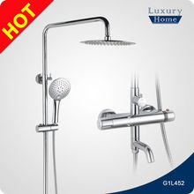 Bathroom sanitary ware in-wall faucet shower set