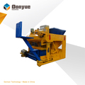 QTM6-25 mobile hollow concrete block making machine for sale