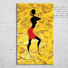 Famous Modern Bright Human Figure Oil Color Abstract Painting