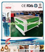 cheap 1290 PVC rubber wood acrylic sheet laser cutting machine 18years OEM