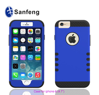 Strong protector robot case for iphone 6 plus popular case / best seller cute case for iphone 6 plus phone