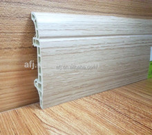 newest trend wood plastic composite skirting home design