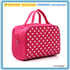 new fashion dot print hanging toiletry bag cosmetics collect bag travel wash bag