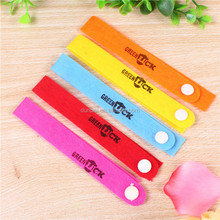Popular Natural Nonwovens Anti Mosquito Bug Repellent Bracelet/Wrist Band Natural No Insects Outdoor/Indoor QW003