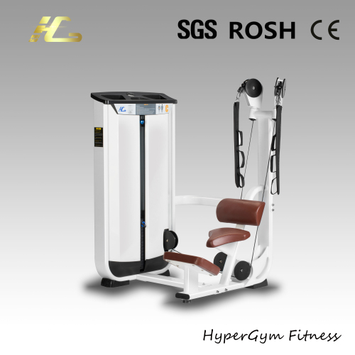 Kneeling abdominal muscle training machine for body fitness