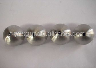 0.5mm 0.2mm 1.6mm thick stainless steel ball with M6 drilled hole
