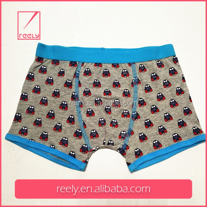 2017 New Design Wholesale Oem Service Kid Underwear Boy Boxer Brief For Children